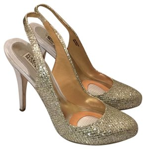 Badgley Mischka Silver with Gold Accents Formal