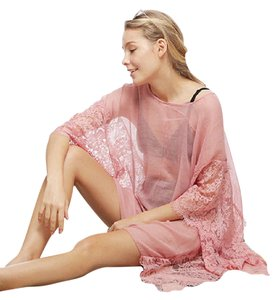 HOT N NEW NEW Pink Cover Up Made of Cotton & Polyester