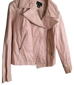 Pink Leather Moto Jacket Motorcycle Jacket