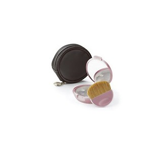 bareMinerals bareMinerals Pink Ice Mirrored Compact with Brush and Case