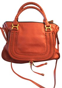 Chloé Leather Tote Shoulder Hobo Bag