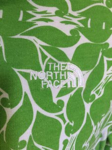 The North Face The North Face Green Leaf Front Zip Hoodie