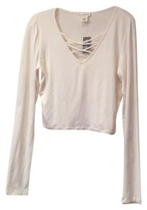 Wet Seal T Shirt Cream