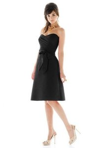 Alfred Sung Black D437 *excellent Condition **free Shipping Dress