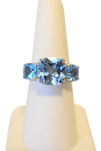 "Colleen Lopez Colleen Lopez ""Palace Jewels"" Sky Blue Topaz Gemstone Ring 7"