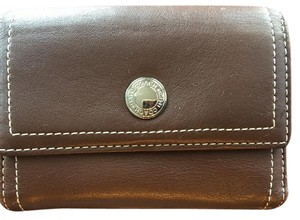 Coach Coach Brown Leather Wallet