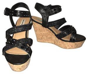 Not Rated Black Wedges