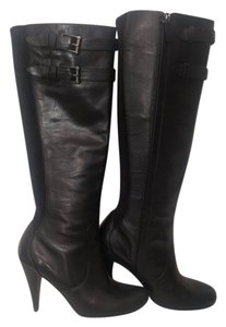 Cole Haan Leather black leather Boots