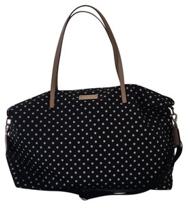 Kate Spade Diamond Dot - Black Travel Bag