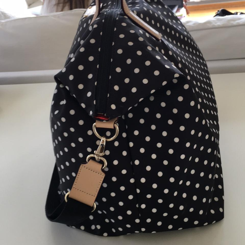 Kate spade kennedy park sophie diamond dot black weekendtravel kate spade diamond dot black travel bag 123456789101112 junglespirit