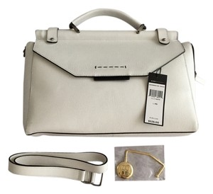 BCBGMAXAZRIA Satchel in White