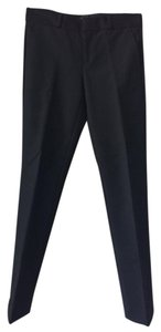 Theory Work Wear Classic Straight Pants Black