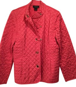 Jones New York Quilted Jacket Coat