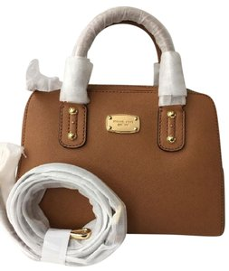Michael Kors Jet Set Travel Studed Satchel in acron