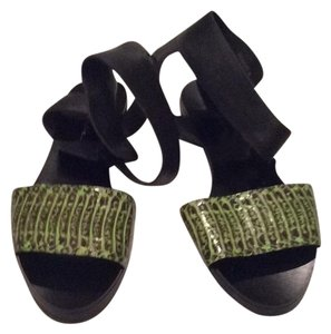 3.1 Phillip Lim Green/Black Sandals