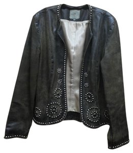 Double D Ranchwear Brown Leather Jacket