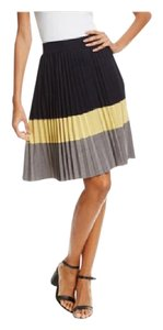 Paniz Skirt black,mustard and grey