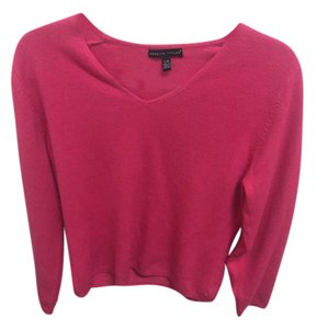 Carolyn Taylor Cashmere V-neck Sweater