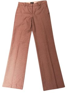 The Limited Straight Pants Brown and soft pink