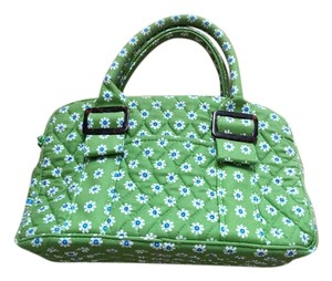 Vera Bradley Green, blue, white Clutch
