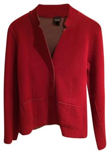 Eileen Fisher Red Blazer