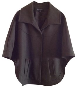 Lafayette 148 New York Wool Coat Olive Fall Cape