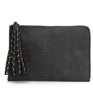 deux lux grey Clutch