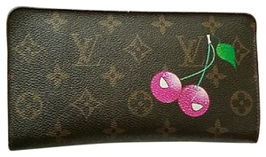 Louis Vuitton Authentic Louis Vuitton Cherries Cerise Limited Edition Large Wallet