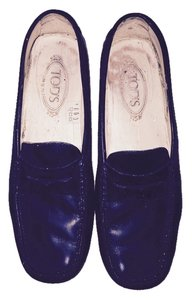 Tod's Tods Loafers Traditional Black Flats