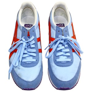 Onitsuka Tiger Pre-owned Rubber Light Blue Athletic