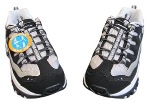 Skechers Running Boot Camp Zumba Black White Athletic