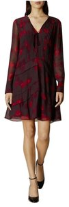 Karen Millen Red Wine Flowy Dress