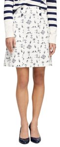 Brooks Brothers Skirt White print