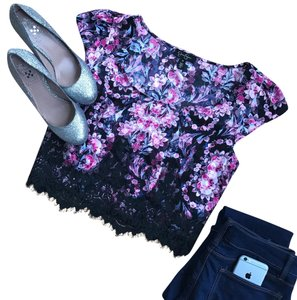 Jessica Simpson Top Floral