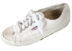 Superga Canvas Sneakers White Athletic