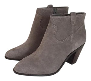 Ash Suede Leather Stone Boots