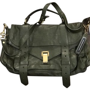 Proenza Schouler PS1 Satchel in Olive