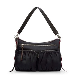 MZ Wallace Nylon Crossbody Hayley Hobo Bag