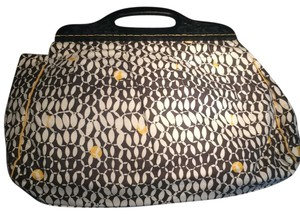 Urban Expressions Brown And Yellow Clutch