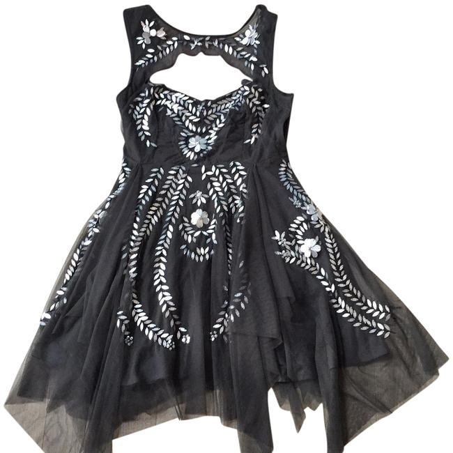 Free People Gray By Short Night Out Dress Size 4 (S) Free People Gray By Short Night Out Dress Size 4 (S) Image 1