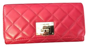 Michael Kors MICHAEL KORS ASTRID QUILTED LEATHER CARRY ALL WALLET