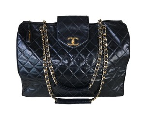 e058e9814ac0 Chanel Supermodel Sale Xl Weekend Overnight Quilted Carry On Black ...