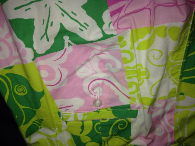 Lilly Pulitzer Capri/Cropped Pants Pink