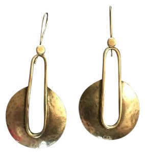 selvaggia special design, silver-plated, brass earrings