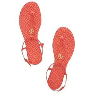 Tory Burch Orange Sandals
