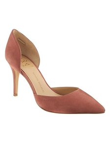 Banana Republic D'orsay Dorsay Pastel Rose Pumps