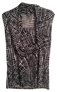 Kenneth Cole Top Black/ White