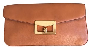 Marc by Marc Jacobs Large Accessories Leather Tan Clutch