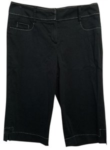New Directions Capris Black