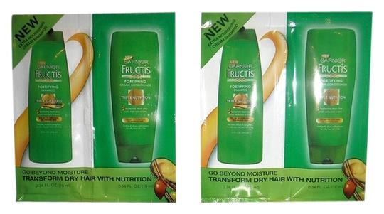 Charles Garnier Garnier Fructis Triple Nutrition Fortifying Cream Shampoo and Conditioner Travel Size